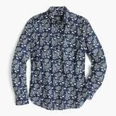 J.Crew Popover shirt in deer print