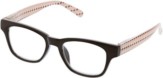 Peepers Women's Deco For Days - Brown/multi 2405100 Square Reading Glasses