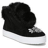 Sam Edelman Leland Faux Fur Pom Sneakers