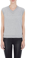 Skin SKIN WOMEN'S REVERSE-FRENCH TERRY SLEEVELESS TOP-GREY SIZE 1