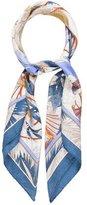 Balenciaga Silk Floral Printed Scarf