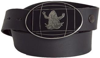 Tri Colour Federation Mens Black Belt Strap (Belt Strap Only)