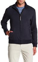 Billy Reid Jacquard Knit Zip Track Jacket