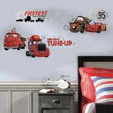 Roommates Disney / Pixar Cars Friends to the Finish Peel & Stick Wall Decals