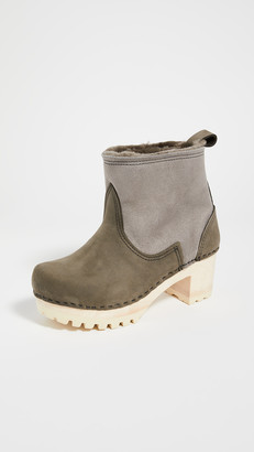 NO.6 STORE Pull On Shearling Mid Tread Boots