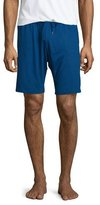 Derek Rose Jersey Drawstring Lounge Shorts, Blue