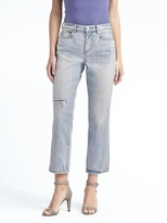 Banana Republic Sadie Wash Vintage Straight Jean