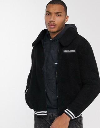Night Addict borg teddy jacket