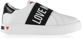 Love Moschino Love Slip Logo Trainers