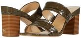 MICHAEL Michael Kors Glenda Slide (Olive) Women's Shoes