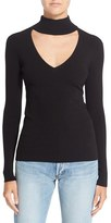 Autumn Cashmere Women's Mock V-Neck Sweater