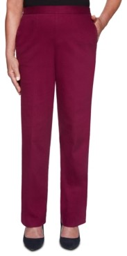 Alfred Dunner Petite Autumn Harvest Colored Denim Pants