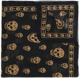 Alexander McQueen skull print scarf - men - Silk - One Size