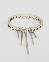 Low Luv x Erin Wasson Silver Plated Drop Cuff