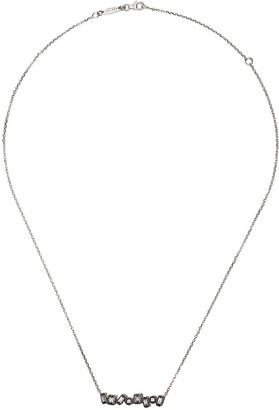 Suzanne Kalan 18kt White Gold Diamond Necklace