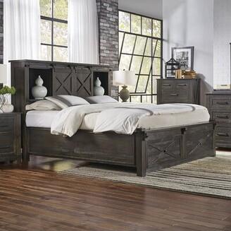 Gracie Oaks Bodeswell Storage Platform Bed Size: King, Color: Charcoal