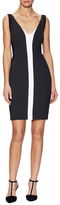 Narciso Rodriguez Colorblocked Back Cut-Out Dress