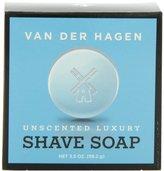 Van Der Hagen Men's Luxury, Unscented Soap, 3.5 Ounce (Pack of 3)