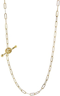 Cathy Waterman 22K Gold 20 Inch Spanish Chain Necklace