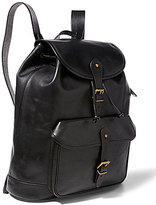 Polo Ralph Lauren Leather Drawstring Backpack