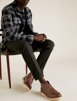 Marks and Spencer Wide Fit Chukka Boots