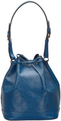 Louis Vuitton Toledo Blue Epi Leather Petit Noe Bag