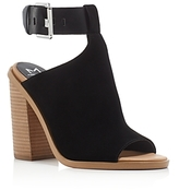 Marc Fisher Vashi Ankle Strap Block Heel Sandals