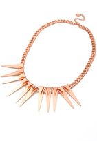 The One 8 Other Reasons More Night Necklace in Rose Gold