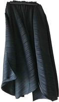 Pleats Please Black Polyester Trousers