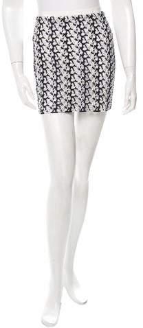 Stella McCartney Open Knit Mini Skirt w/ Tags