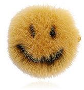 Anya Hindmarch Women's Smiley Mink Fur Sticker