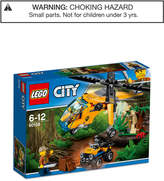 Lego City 201-Pc. Jungle Cargo Helicopter Set