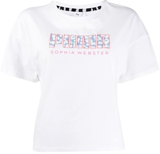 Puma x Sophia Webster logo T-shirt