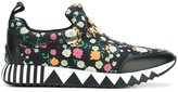 Tory Burch floral print sneakers
