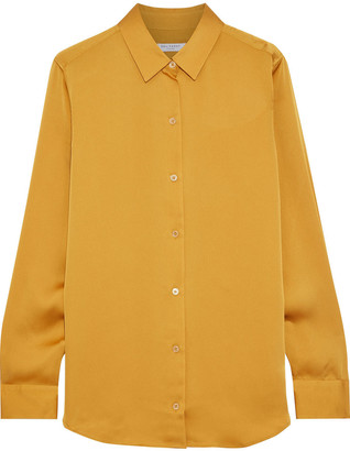 Equipment Essential Washed-satin Shirt