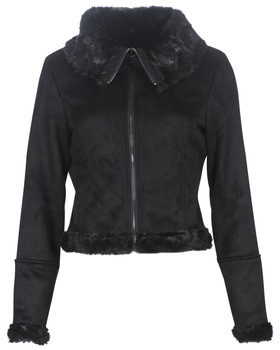Only ONLEMMA women's Leather jacket in Black