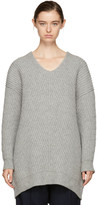 Acne Studios Grey Deka Sweater Dress