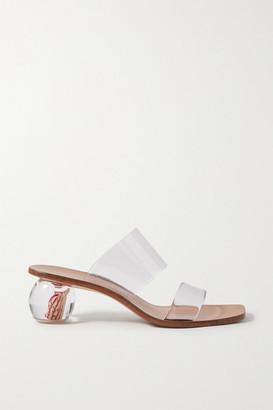 Cult Gaia Jila Flower Pvc Sandals - Clear