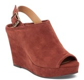Sole Society Jemadine Suede Covered Wedge