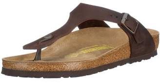 Birkenstock Gizeh Natural Leather, Style-No. 743831, Unisex Thong Sandals,(39 EU), normal width