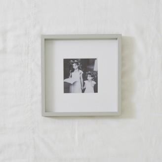 "The White Company Fine Wood Photo Frame 5x5"", Grey, One Size"