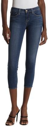 L'Agence Juliette Low Rise Crop Skinny Jeans