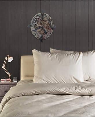 Enchante Home Plain 3 pieces Turkish Cotton Queen Duvet Cover Set Bedding