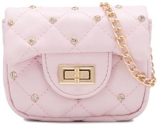 MonnaLisa Stud Detail Shoulder Bag