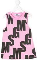 MSGM logo tank top