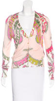 Emilio Pucci Knit Printed Cardigan