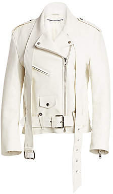 Alexander Wang Women's Martingale Leather Moto Jacket