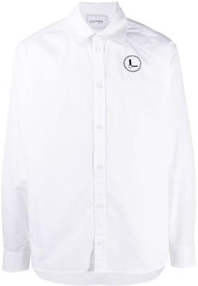 Lourdes Graphic Print Cotton Shirt