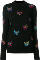 Jeremy Scott butterfly pattern jumper