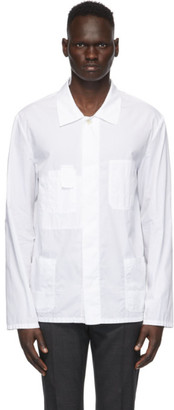 Maison Margiela White Garment-Dyed Shirt
